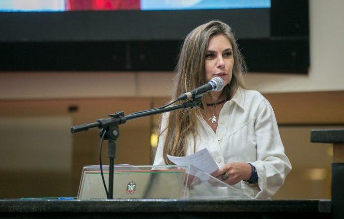 Deputada Estadual, Paulinha (PDT)   Foto Arquivo/Agência AL